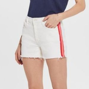 Mother The Sinner Short Fray Red Piping NWT!